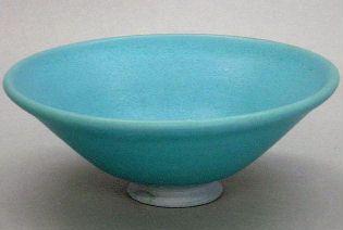 トルコマット釉 茶碗  酸化焼成.jpg
